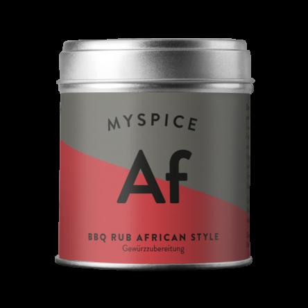 BBQ Rub African Style
