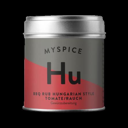 BBQ Rub Hungarian Style –Tomate/Rauch