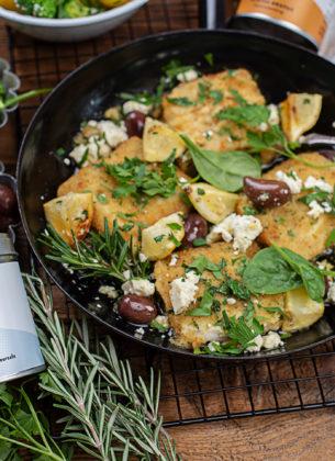 "Polardorsch ""Greek Style"" mit mediterranen Kartoffeln & Brokkoli"