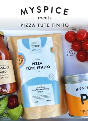 MYSPICE MEETS PIZZA TÜTE FINITO - PIZZA SET